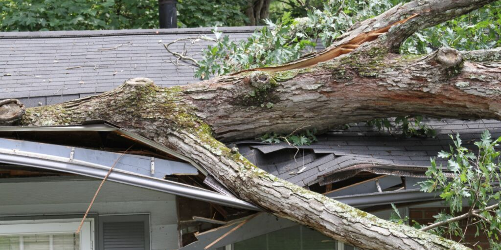 Summer Roof Damage in the Atlanta Area- Georgia Summer Storms and Heat cause the need for roof replacement and repair